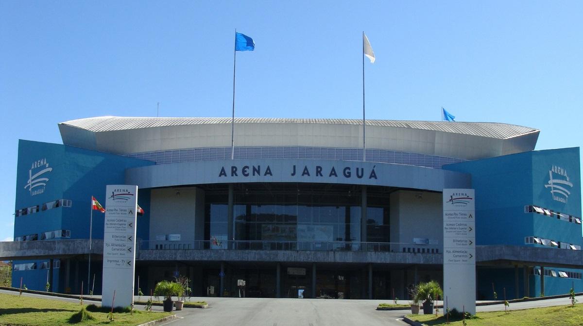 A Arena Jaraguá será o palco do próximo UFC no Brasil. Foto: Divulgação/Prefeitura municipal de Jaraguá do Sul