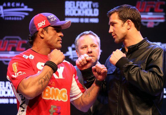 UFC Belfort vs Rockhold terá transmissão especial no Canal Combate