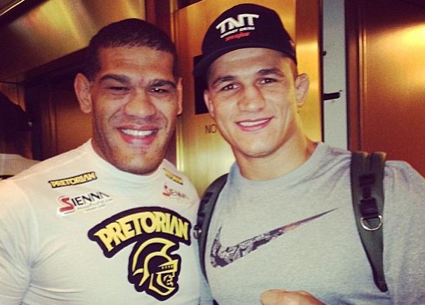 Pezão e Cigano já admitem se enfrentar por disputa de cinturão do UFC