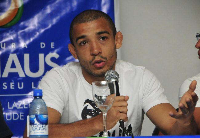 Campeão José Aldo quer lutar com Anthony Pettis em Manaus