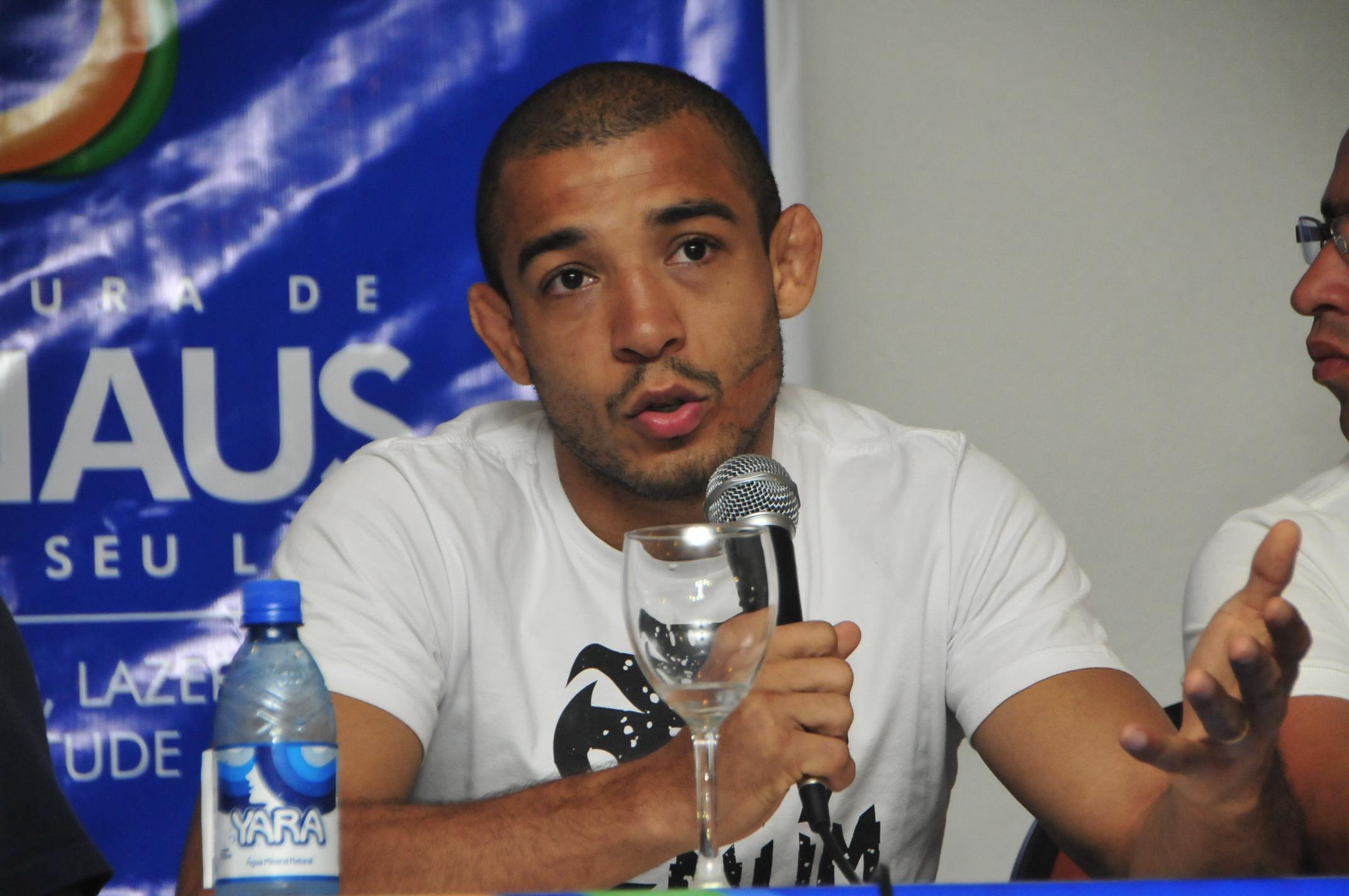 Aldo se contundiu durante o treino para o UFC 189. Foto: Divulgação