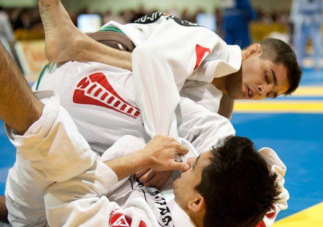 Rookie black belt tests training philosophy of Marcelo Garcia in the Pan 2013