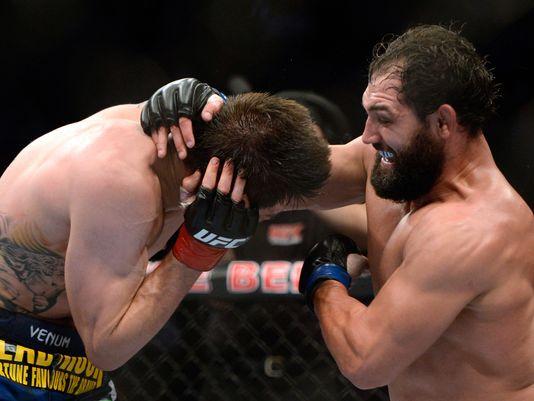 Veja o treino de Johny Hendricks com Marcelinho Garcia antes de GSP no UFC 167
