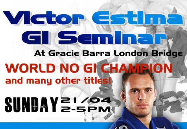 GB London Bridge to host Victor Estima seminar April 21