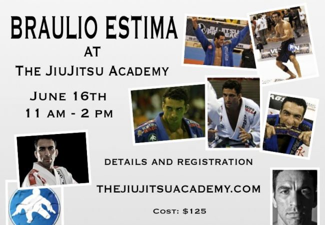 Train with Braulio Estima in Southern Indiana this June!