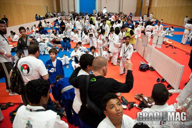 2013 WPJJC: Day one for the kids at the World Jiu-Jitsu Children's Cup