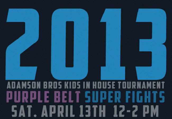 Adamson brothers invite kids and purple belts to Oregon in-house tournament
