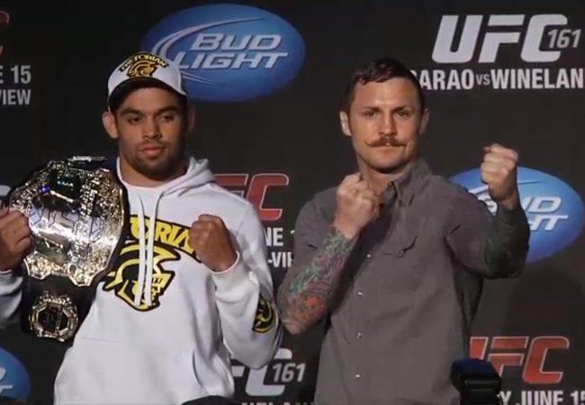 """Renan Barão e os treinos para o UFC 161: """"Não abro mão do Jiu-Jitsu"""""""