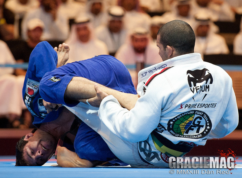 2013 Abu Dhabi WPJJC: Buchecha and Rodolfo in Action During the Open Class Final; photo by Dan Rod