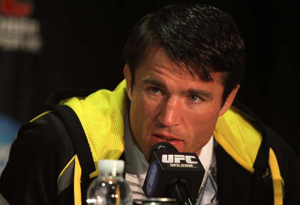 Chael Sonnen fala bem de Jones mas já tem uma estratégia para vencer. Foto: UFC/Divulgação