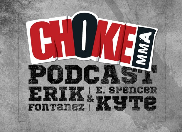 GRACIEMAG.com's Choke MMA Podcast premieres today, April 26