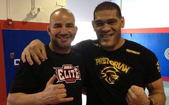 Antônio Pezão e Glover Teixeira treinam juntos para atuar no UFC 160