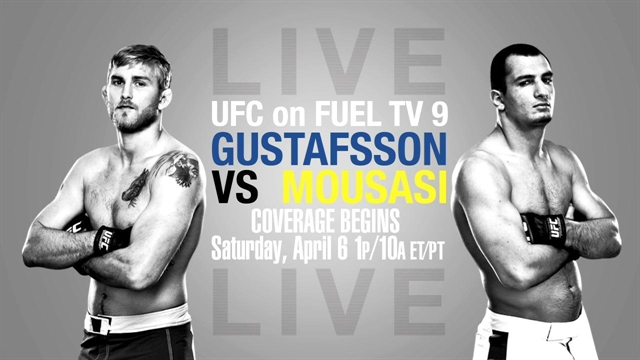 Weekend MMA Round-Up: Alexander Gustafsson's gash, Ronda Rousey on TV