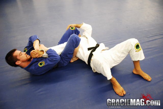 Learn an Armlock with the Kimura Grip, by Bill Cooper