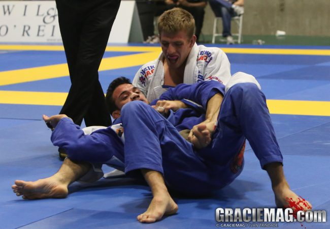 Video: watch Keenan Cornelius winning the brown belt medium-heavyweight in Vegas