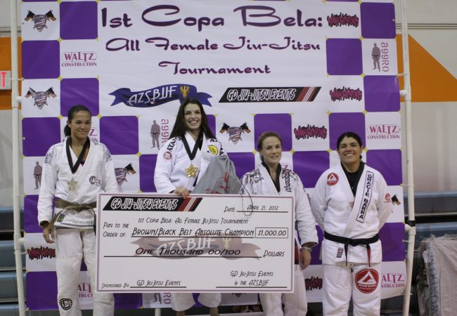 Be part of Jiu-Jitsu history: Register for 2nd Copa Bela all-female tournament!