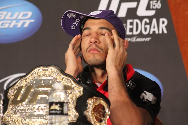 Jose Aldo UFC 156