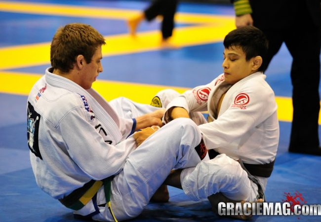 Keenan Cornelius vs. João Miyao at the 2013 Pan. Photo: Erin Herle/GracieMAg