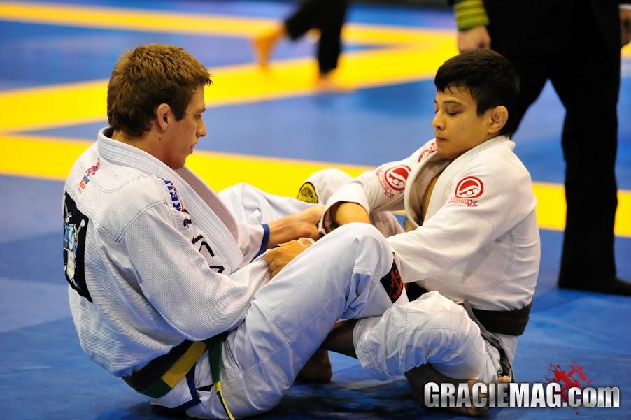 Keenan Cornelius vs. João Miyao at the 2013 Pan. Photo: Erin Herle/GracieMAg