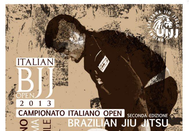 Win the Italian Open BJJ, get free registration to 2014 Euro Open