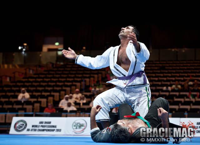 O general de Abu Dhabi resolveu conferir e se deu bem entre os masters