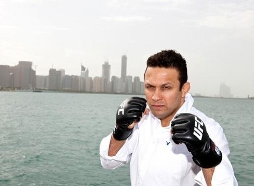 Renzo Gracie antes de sua última luta no UFC. Foto: Divulgação/UFC