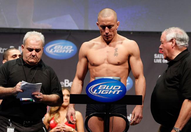 GSP admite que pode ter pesado mais de 77,11kg no UFC 158