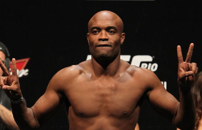 Ten fights in five years, this is the goal of Anderson Silva in his next contract with the UFC. Photo: UFC / Disclosed