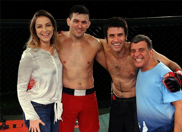 Veja Demian Maia hoje na Globo e na GRACIEMAG, nas bancas