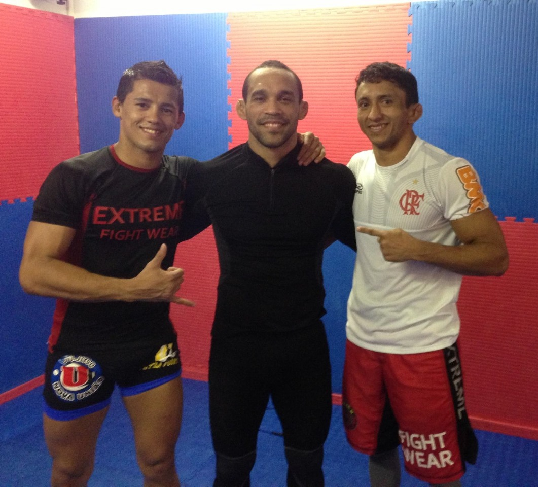 Dudu Dantas, Andrius Tigrão e Marcelo Costa. Foto: Divulgação