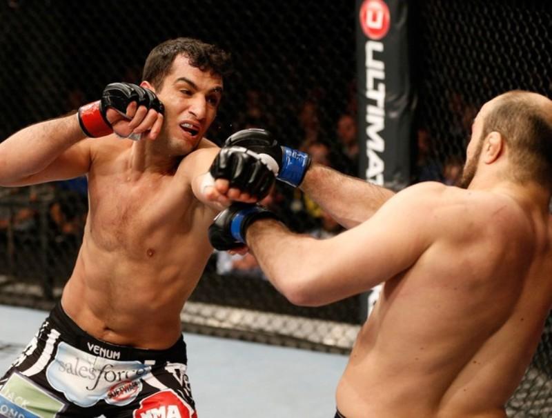 Gegard Mousasi fez sua no UFC em abril, contra Ilir Latifi, em luta morna. Foto: UFC/Divulgação