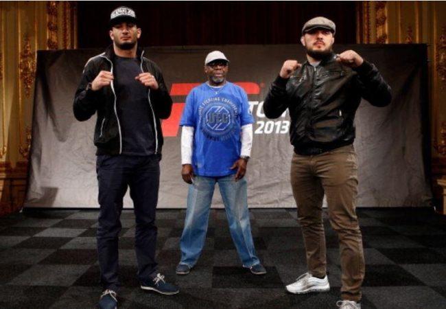 Mousasi encara parceiro de treinos de Gustafsson no UFC Suécia 2