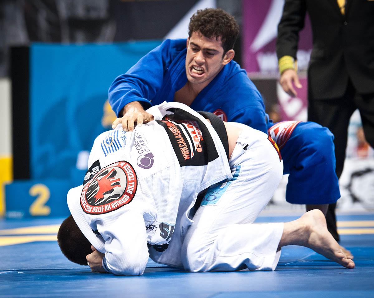 Otavio Sousa during the 2012 World Jiu Jitsu Championship