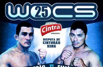 Francimar Bodão vence e leva o cinturão até 93kg do WOCS 25