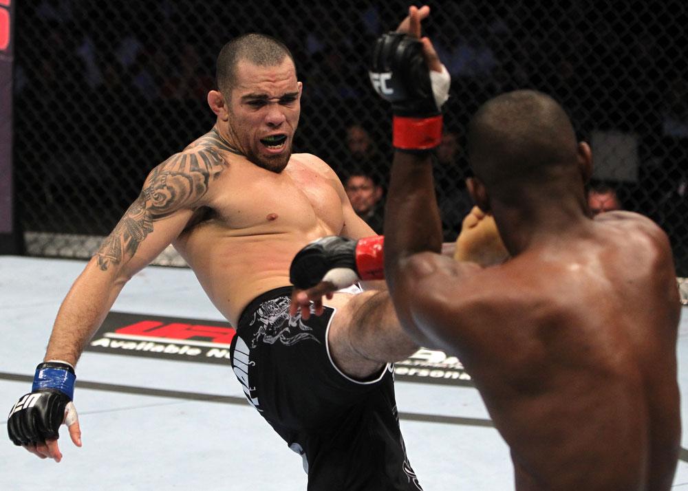 Rafaello Trator confirmado no UFC 162 contra Edson Barboza. Foto: UFC/Divulgação