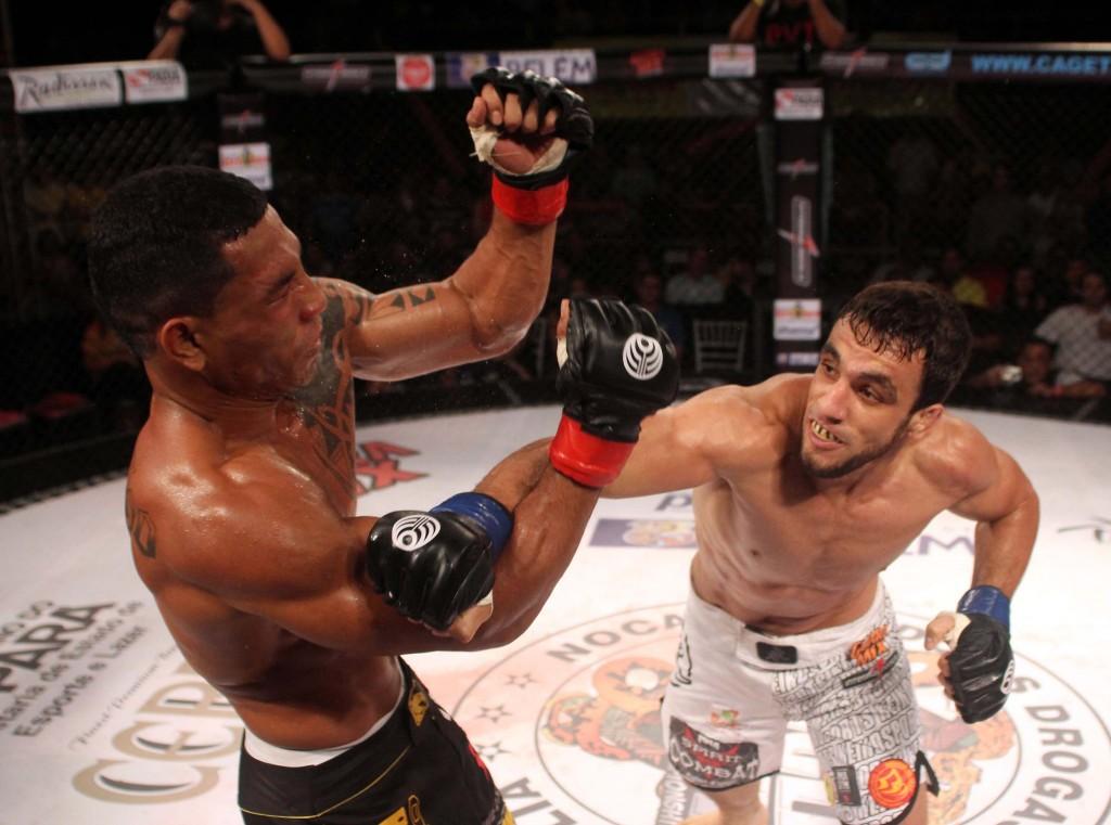 Silvério vence Orgulho na decisão unânime e é o novo campeão 77kg do Jungle. Foto: Alexandre Modesto