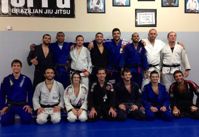 2013 Worlds Training Camps: Caio Terra with team and Soul Fighters, too!