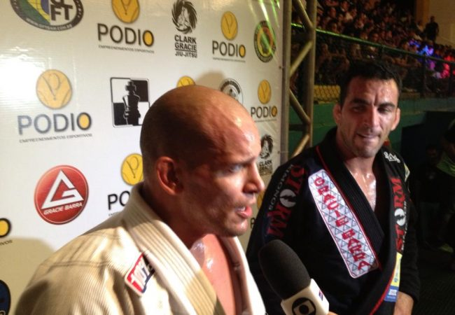 Copa Podio: Xande Ribeiro passes the guard of Braulio Estima and talks about his feat