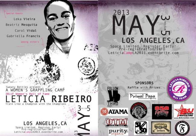 GMA Selva BJJ invites Leticia Ribeiro for 3-day seminar in May