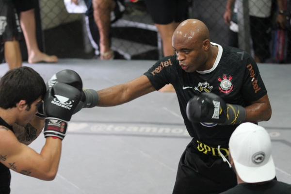 PHOTOS: See Anderson Silva training with Team Nogueira