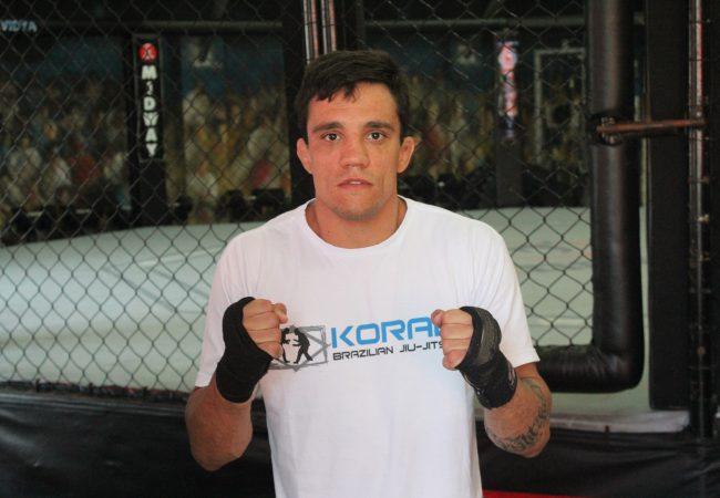 Bruno Frazatto volta ao MMA com duelo que remete ao Jiu-Jitsu. Foto: Divulgação