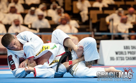 Claudio Calasans Jr during the bronze medal match with Tarsis, in Abu Dhabi. Photo: Dan Rod/ GRACIEMAG