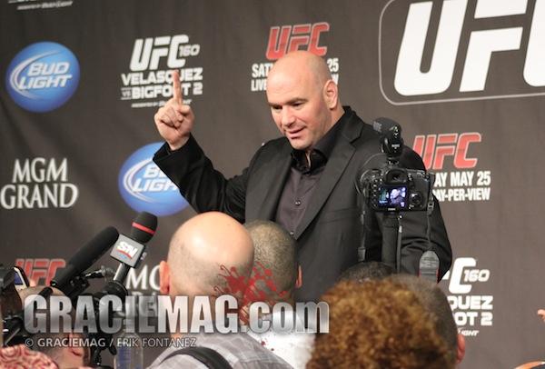 Video: UFC's Dana White talks crooked politicians, Shogun retiring, Machida vs. Diaz