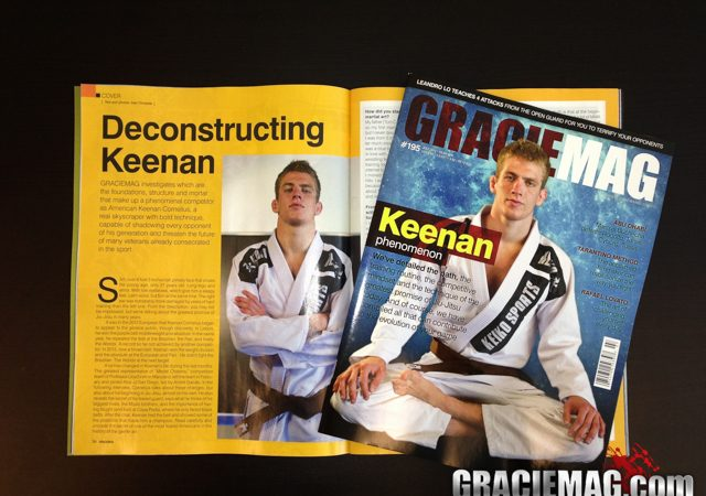 Keenan is here. Grab your copy at the 2013 Worlds