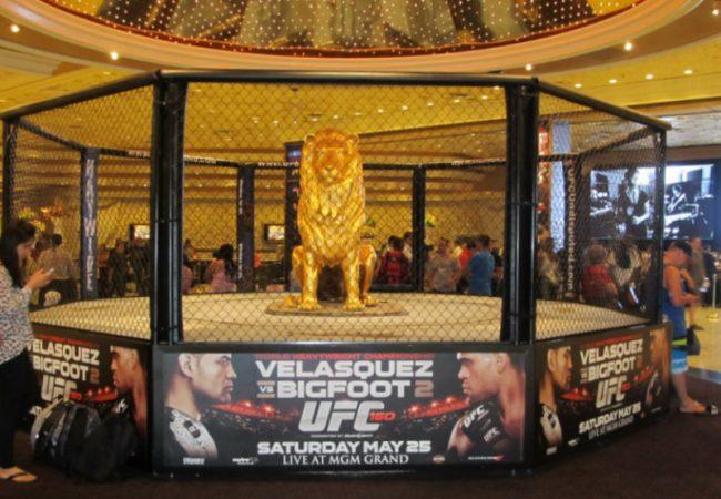 Las Vegas ready for UFC 160