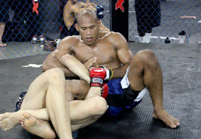 As fotos do 1º treino de Jacaré após a troca de adversário no UFC no Combate