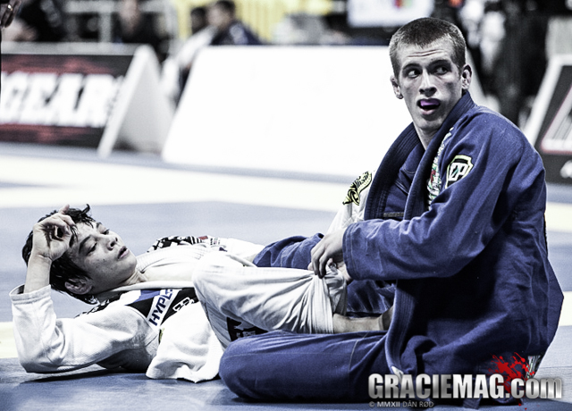 Keenan and Paulo Miyao at the 2012 Worlds
