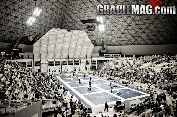 Panoramica da Piramide de Long Beach palco do Mundial de Jiu Jitsu 2013 Foto GRACIEMAG