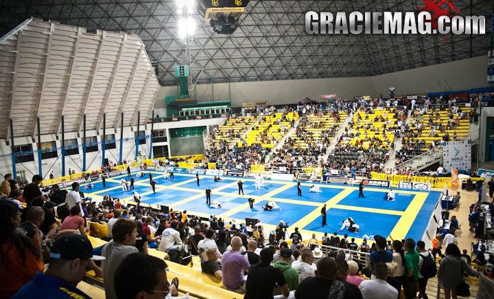 Piramide de Long Beach, palco do Mundial de Jiu Jitsu. Foto: Dan Rod