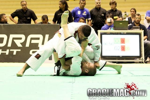 Brazilian Nationals: black belt absolute final between Lovato and Evangelista